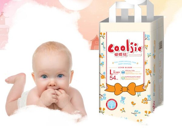 Lowest Factory Price 2019 Baby Diapers Economy Pack Three-demensional leakproof locks in urine Ultra-Thin and soft Size NB,M,L,XL W17JS368