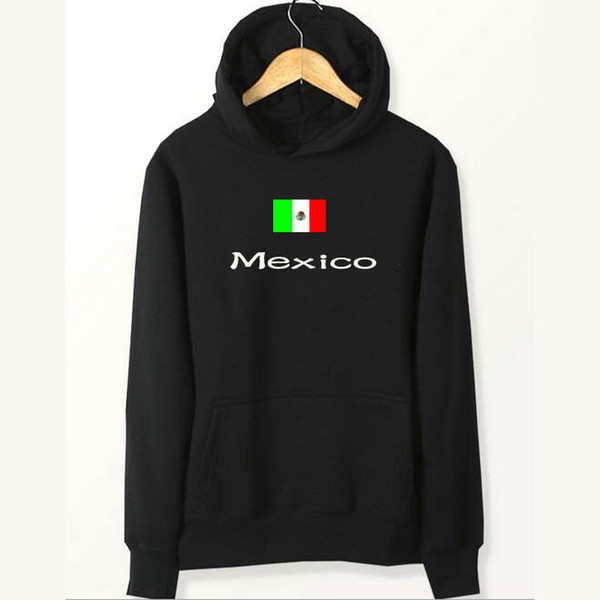 Mexico flag hoodies Banner gym fitness sweat shirts Country fleece clothing Pullover sweatshirts Outdoor sport coat Brushed jackets