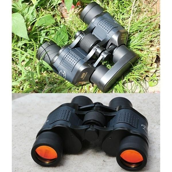High Quality 60x60 3000M Ourdoor Waterproof Telescope High Power Definition Binoculos Night Vision Hunting Binoculars Monocular Telescope