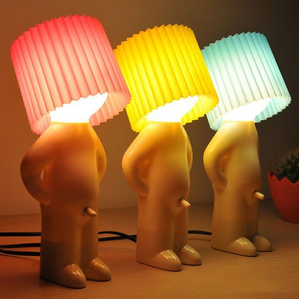 2019 Mr P Boy Naughty Table Lamp Little Shy Creative Mini Small Night Light Lamps Christmas Gift Free Dhl Shipping From Globaltrade100 251 26