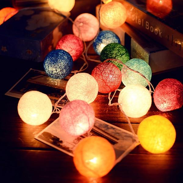 lnea creativa manual bola iluminacin de la lmpara tailandia chinlon led luz de la noche
