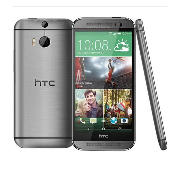 """Refurbished Original HTC M8 Phone 5.0""""screen Quad-core Dual 4MP+5MP Camera WIFI GPS 4G LTE Cellphone"""