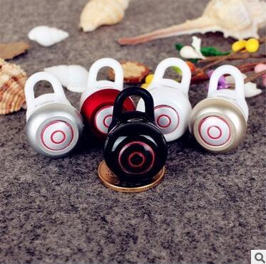 New Mini6 Fones de Ouvido Fones de Ouvido Sem Fio Bluetooth Fashional Mini Invisível Handsfree Fone de Ouvido com Cancelamento de Ruído MIC para Celular