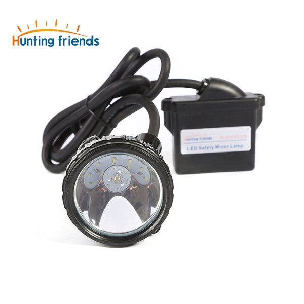 10pcs/lot Lithium Battery Safety Miner Lamp KL6M.Plus Rechargeable Headlamp 1+6 LED Mining Cap Lamp Explosion Rroof Headlight