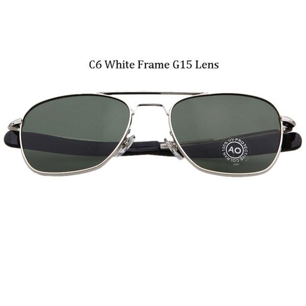 C6 Cadre blanc G15