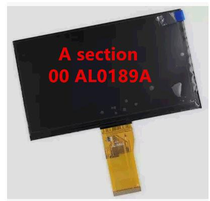 Wholesale- The new Changhong V6 00 AL0189A WJWS7056A-FPC(V1.0) 7 inch 50PIN IPS LCD screen display screen