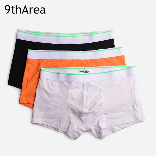 Hot-selling 2017 New Arrived Style Men's underwear Boxer shorts Elastic bright belt design Breathable Cotton fabric Slim Breathable
