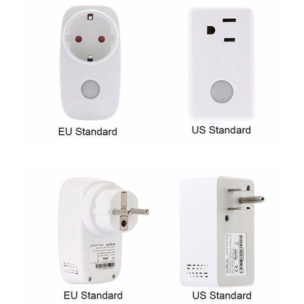 Broadlink Socket Monitor del medidor de potencia, 16A + Timer wifi enchufe enchufe, Domótica de casa inteligente, APLICACIÓN de controles inalámbricos remotos para iOS Android
