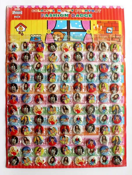 Freies Verschiffen, 216Pcs / lot Filmcharaktere Karikatur-Zinn knöpft Stiftabzeichen, 25MM, rundes Broschen-Abzeichen, Kinderspielzeug jkl