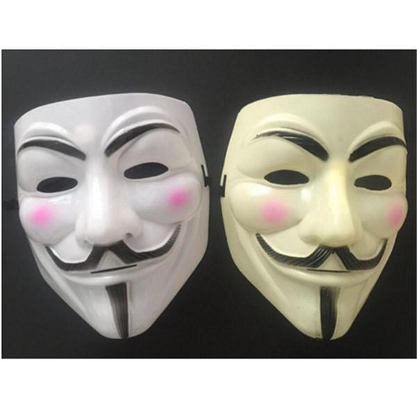 Hot V for Vendetta Anonymous Guy Fawkes Resin Fancy Cool Costume Cosplay Maschera per feste, Feste,