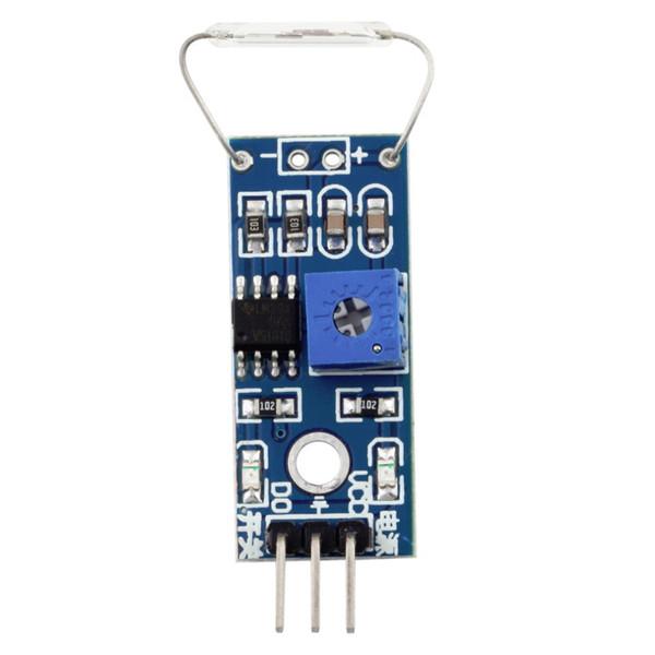 Commutatore magnetico a lamella del commutatore a lamella del modulo del magnetron del modulo di Reed per Arduino