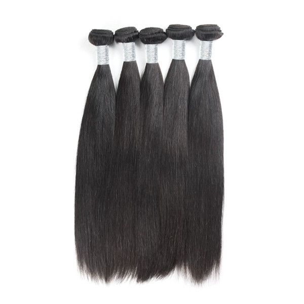 Brazilian Hair Bundles 5 Pcs/lot Human Virgin Hair Weaves cuticle aligned Hair Free Shipping Uglam Factory Price