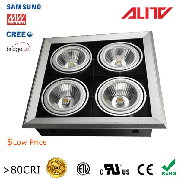 the best attitude 0c0e0 4113c 80W4*20W Recessed Multiple Downlight COB LED Anti Glare 80CRI Wean Well  Drive Cree Bridgelux Lumileds Citizen LEDs CE Rohs Led Ceiling Downlights  Led ...