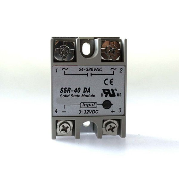 Free shipping SSR 40A SSR40A ssr-40A solid state relay,single phase ssr