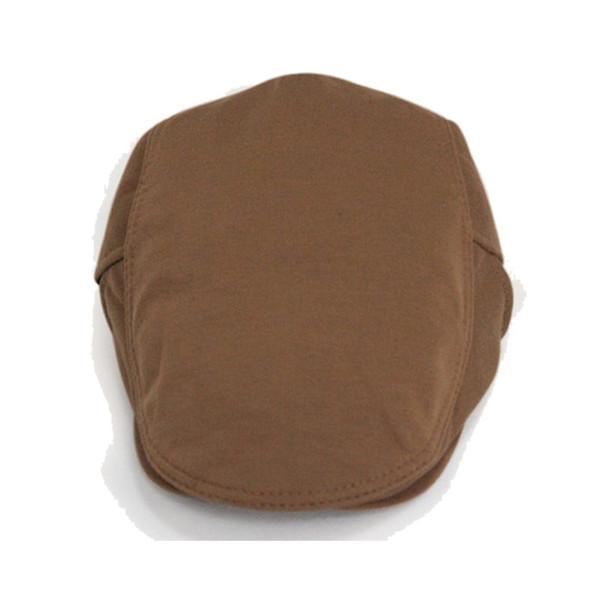 Wholesale-Classic Style Women Men Beret Caps Leather Belt Buckle Adjustable Unisex Hats Spring Autumn Man Flat Solid Cotton Berets Hat