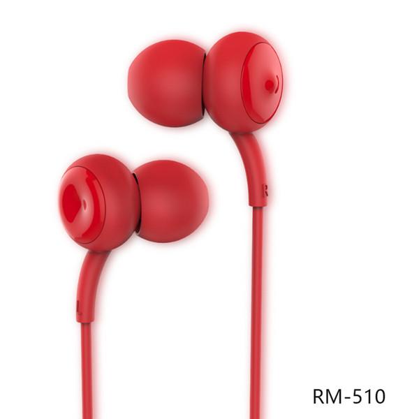 Remax Kopfhörer für iPhone 7 RM-510 im Ohr Mikrofon Kopfhörer MP3 Musik Kopfhörer High Performance Smart Handy Stereo Headset