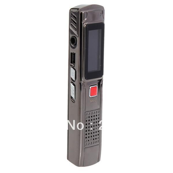 Großhandels-nagelneues 8GB Digital-Audiosprachtelefon-Recorder Dictaphon-MP3-Player Freeshipping