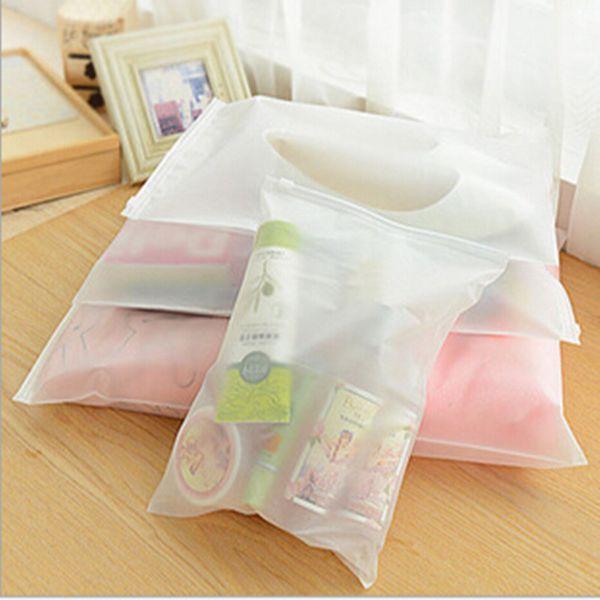 new travel portable dustproof cover reusable transparent plastic shoes clothes socks sundries storage bags organization sealed bag