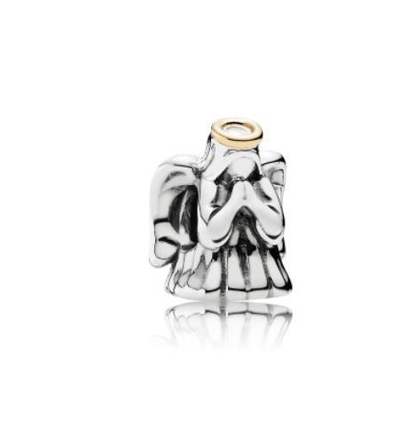 Fits Pandora Bracelets 30pcs Angel Silver Charm Beads Charms Chamilia Compatible For Wholesale Diy European Necklace Snake Chain Bracelet