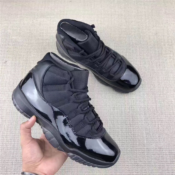 more photos 25327 616ab 2017 New Air Retro 11 Black Space Jam Black Devil Wool Athletic Space Jam  Sports Retro 11s Gold Big Devil Chocolate Sneakers Cool Basketball Shoes ...