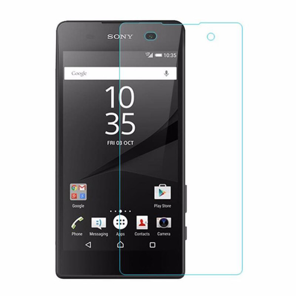 9H HD Premium Tempered Glass para Sony Z / Z1 / Z2 / Z3 / Z4 / Z5 / Z5P / Z1mini / Z3mini / Z4mini / Z5mini / M / Aqua Pantalla a prueba de explosiones 500pcs / lot