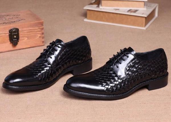 Кристина Белла Fashion Business Dress Shoes Итальянские мужские натуральные  кожаные туфли Классические Оксфордские ботинки для мужчин 2a50b387e4e