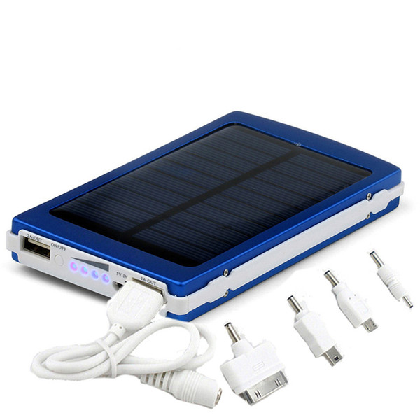 Portable solar battery charger 30000mah LED Darkening portable solar power bank solar power bank SOS help for Mobile Phone Tablet MP4
