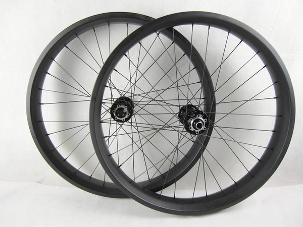 free shipping carbon fat wheel rims bikes 26er 80mm wide fat bike rim wheels thru axle fat wheel hubs