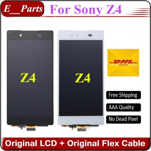 (Originale al 100%) Per Sony Xperia Z4 Z3 + z3 plus LCD E6553 E6533 E5663 LCD Touch Screen Digitizer Assembly sostituzione Da Fast DHL