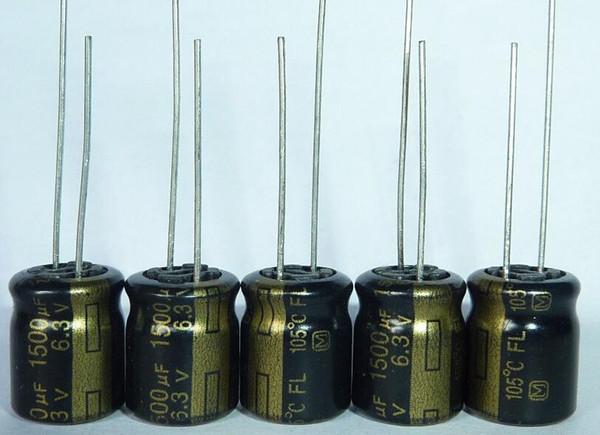 1500uf 10v baja ESR condensadores electrolíticos 105 C Panasonic paquete de 2,5 o 10