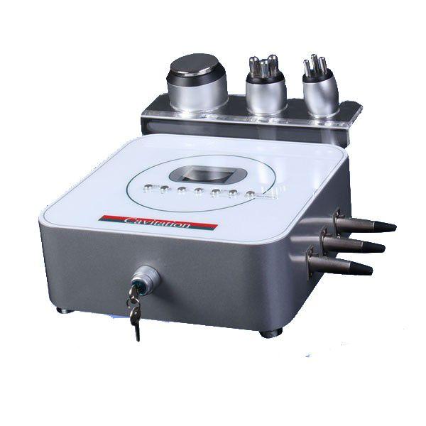 Mini máquina de rf tripolar de cavitação de freqüência de rádio para uso doméstico