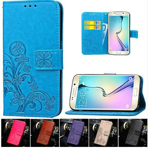 For Samsung Galaxy S6 S7 Edge Grand Prime J1 Mini S4 S3 S5 A5 A3 2016 J5 J3 Flip Wallet Leather Cases For iPhone 5 5S 6S 6 7 Plus