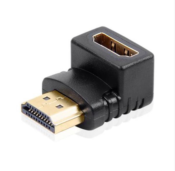 HDMI Maschio A HDMI Femmina Cavo Adattatore Convertitore Mini HDMI Adattatore Extender 90/270 Gradi Angolo Per 1080P HDTV