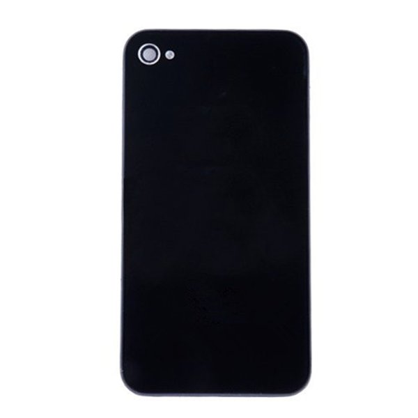 200PCS/LOT Back Glass Full Housing Back Cover Battery Cover with Flash Diffuser for iPhone 4 4s