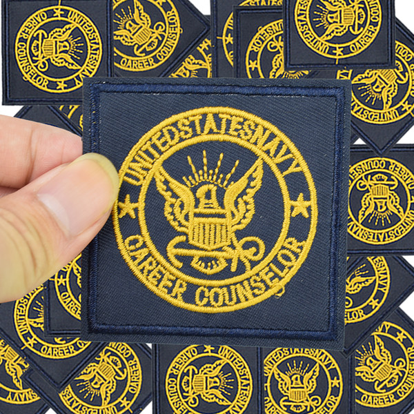 Military badge patches military for clothing iron embroidered Diy patch applique iron on patches sewing accessories for clothes