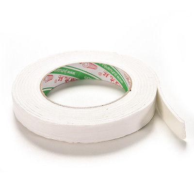 Wholesale- 2016 1Roll 1.8x300cm Double Sided Tapes White Foam Super Strong Adhesive Sticky Tape Roll