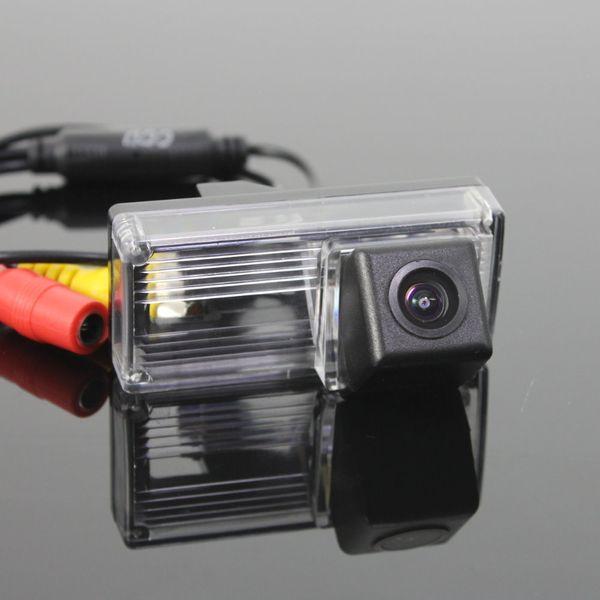 Caméra de stationnement de voiture / OEM de lumière de plaque d'immatriculation CCD RCA NTST HD / caméra de vue arrière pour Toyota Prius