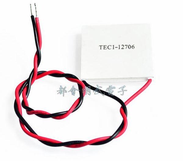 Radiatore termoelettrico TEC1-12706 12706 TEC Peltier 12V Nuovo refrigeratore a semiconduttore TEC1-12706