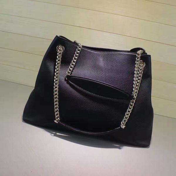 top popular Europe bag shoulder bags casual tassel bag chain bag 2019
