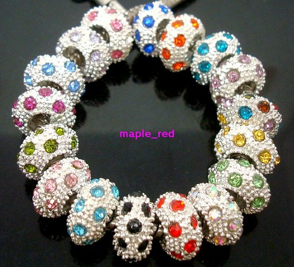 100PCS Tibetan Style Spacer Beads Snowflake For Jewerly Bracelet Necklace Making
