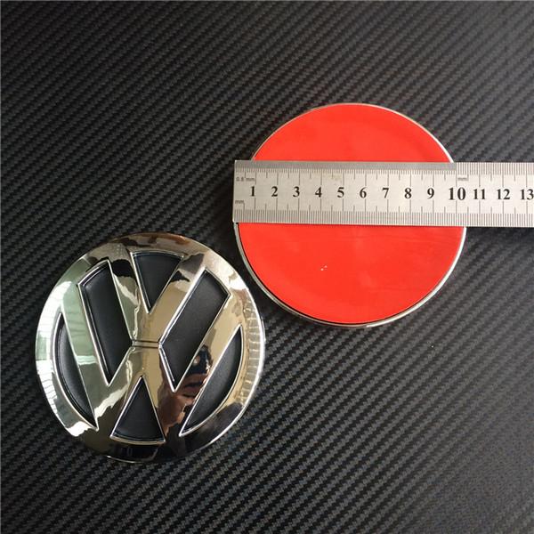 Good Quality 105mm Chrome Abs Car Rear Badge Sticker Emblem Logo For