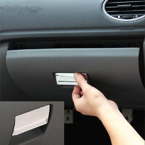 Car Styling, ABS Chrome Guanti Box Maniglia Copertura fibbia Trim per Ford Focus 2 MK2 2005-2013