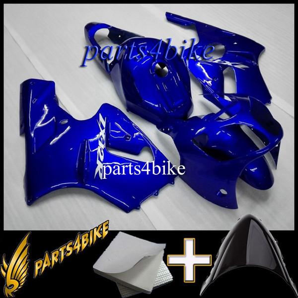 Spritzgussform ABS Verkleidung für Kawasaki ZX12R 00 01 ZX-12R 2000 2001 00-01 blau Aftermarket Plastic Motorcycle Body Kit
