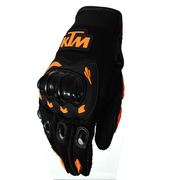 top popular Free shipping 2019 KTM racing gloves lMotorcycle gloves men Motoqueiro Guantes motorbike gloves Cycling Motocross 2019