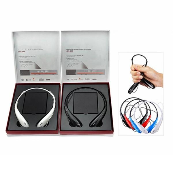 Für HBS800 Bluetooth Headset Wireless Sport Kopfhörer 4.0 für Handy Samsung Galaxy S8 S8edge Sony mit Hard Box
