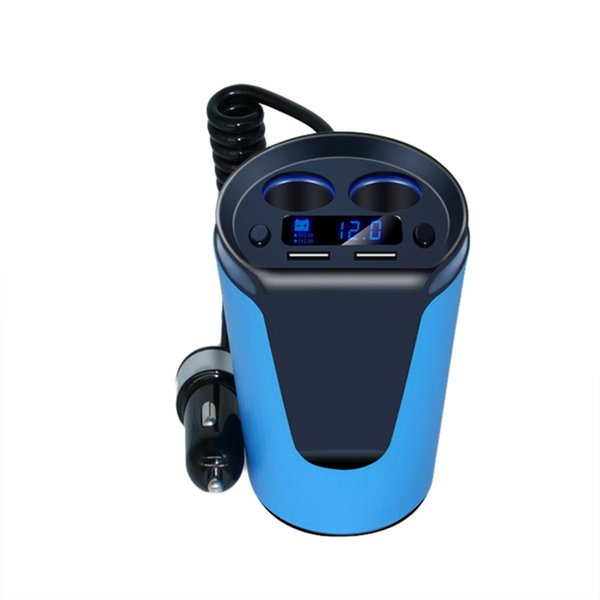 Smart Dual USB Car Charger Doble puerto USB Cargador DC 12V Protección contra sobretemperatura Teléfono móvil Cargador ME3L