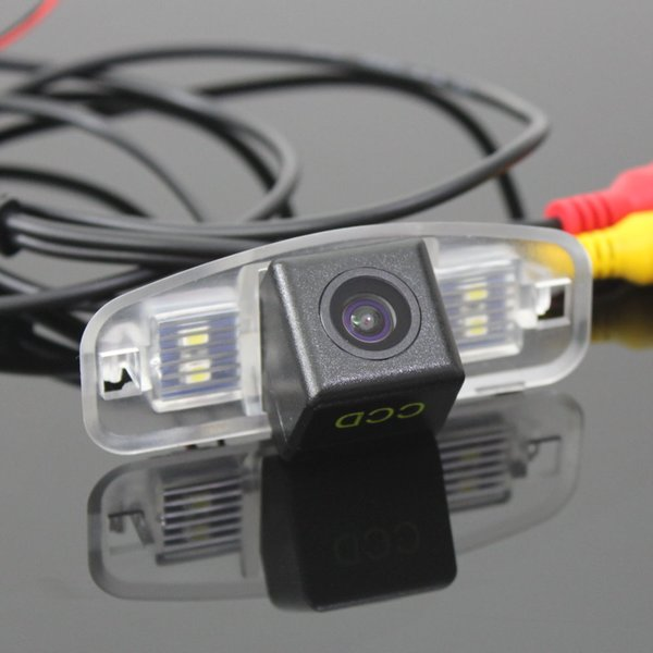 Car Camera For Honda Accord 2008~2012(Europe) Rear View Camera / HD CCD RCA NTST PAL / License Plate Light OEM 1056