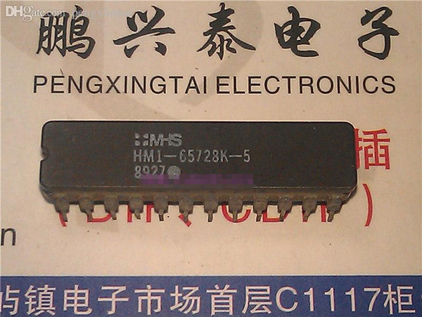 HM1-65728K-5 , dual in-line 24 pin dip ceramic package . Electronics parts / HM1-65728K . CDIP24,IC