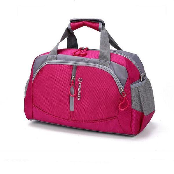 Wholesale New Unisex Waterproof Gym Bag Big Capacity Fitness Men Training Shoulder Bag Traveling Sports Bag Women Luggage Pack Free Shipping