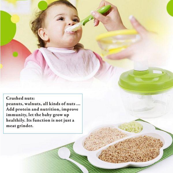 Tritacarne multifunzione, trituratori, tritacarne, miscelatori, frullatori per alimenti per bambini, tritatutto per verdure, utensili da cucina.